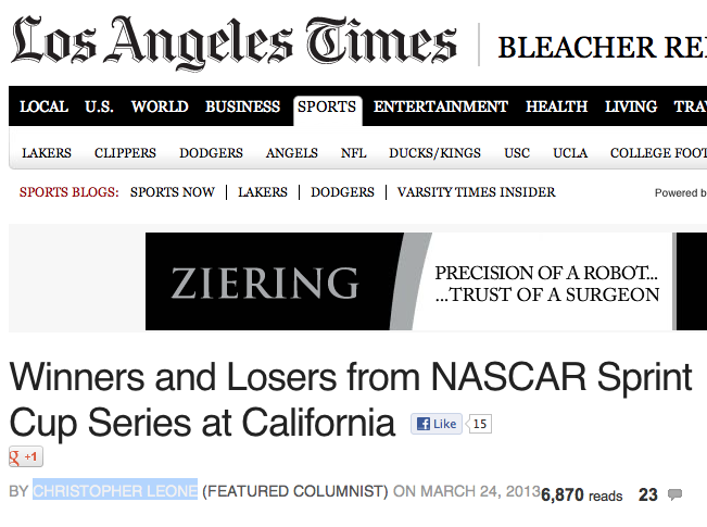 Los Angeles Times 1